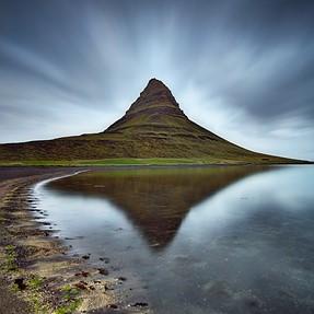 """""""Her Majesty""""   180 sec long exposure   Kirkjufell Mountain, Iceland"""