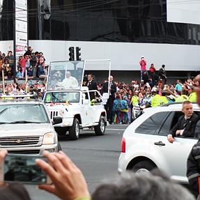 Visit of Pope Francis to Ecuador