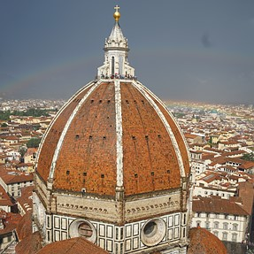Duomo @ Cattedrale di Santa Maria del Fiore and Ponte Vecchio, Firenze, IT