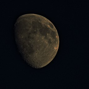 A raw file of the moon SX60 Extreme heat revealed