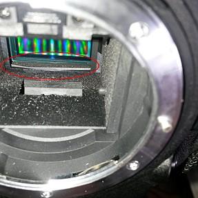 My Nikon D7000 shutter damaged?