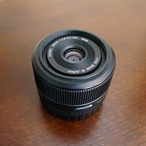 Sigma 30mm f2.8 for E mount