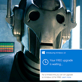 Danger of converting to Windows 10....
