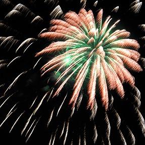 Firework for late summer