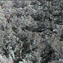 Black vertical bars on video