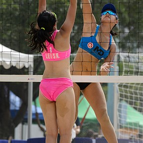 AVC Women's Beach Volleyball Championship 2015 Day 1 highlights