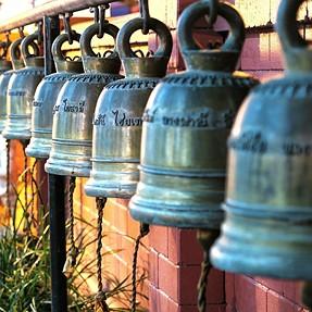 G7X buddha bells at night