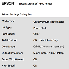 Stymied with Epson P800 Driver & 16-Bit