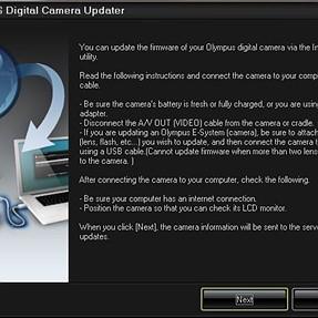 Oly Digital Camera Updater