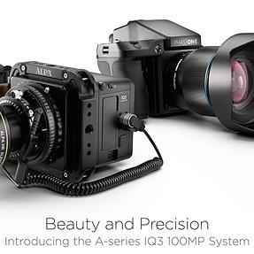 World's first 100 MP medium format mirrorless camera