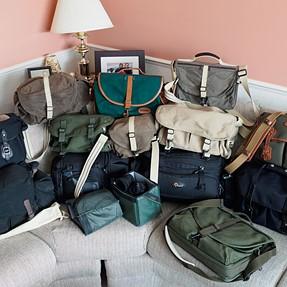 I may have a camera bag problem.......