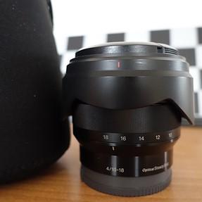 Sony 10-18 f4 e-mount