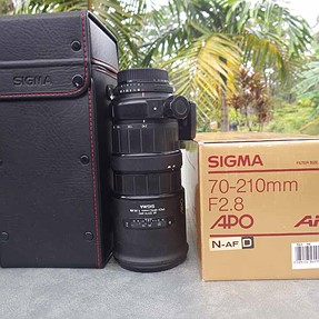 Does my old Sigma 70 - 210 f2.8  APO Need Cleaning?