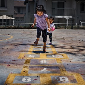 Hopscotch fun, processing overboard or no?