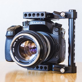 Modular cage for small-sized camera