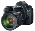 Canon updates firmware for EOS 6D Wi-Fi capable full-frame DSLR