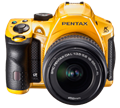 Pentax offers K-30 in a variety of colors and finishes