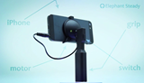 Elephant Steady stabilized grip for iPhone seeks funding through Kickstarter