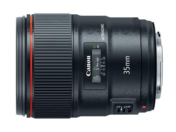 Canon EF 35mm F1.4L II USM boasts new Blue Spectrum Refractive Optics for improved chromatic aberration control