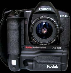 Kodak Professional DCS 520 (click for larger image)