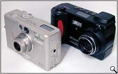 Compared to Nikon Coolpix 800 (click for larger image)